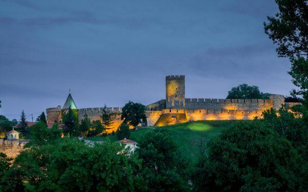 Вид на крепость Калемегдан