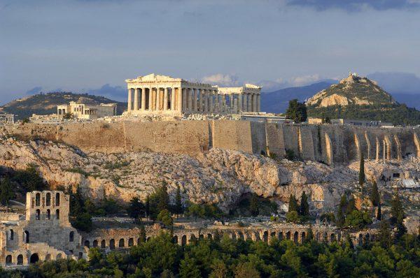 Парфенон в афинском Акрополе