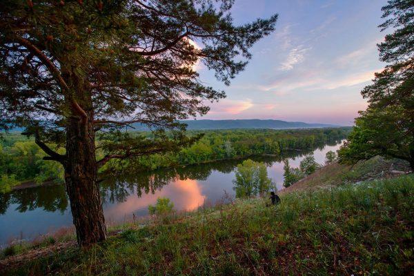Мастрюковские озера недалеко от Самары