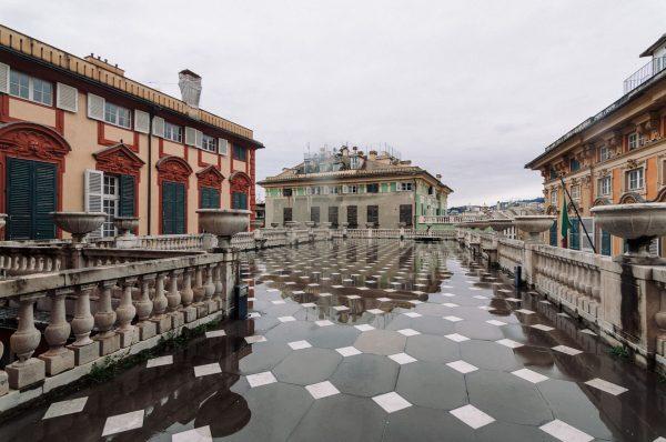Пасмурная погода в Генуе