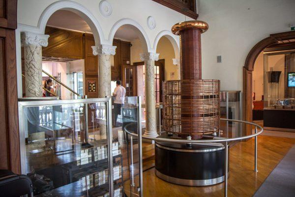 Музей Николы Теслы внутри