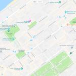 Некоторые парки на карте Самары