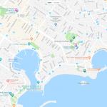 Несколько театров и музеев на карте Афин