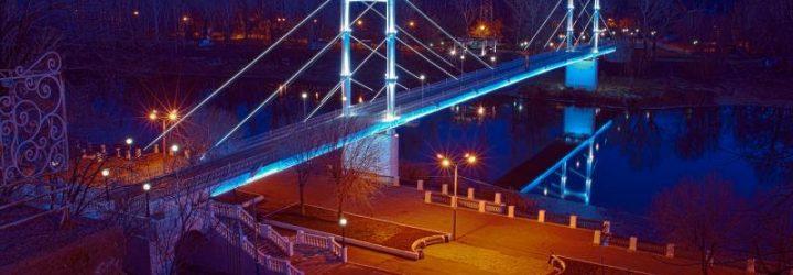 Ночной Оренбург