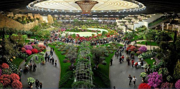Выставочный павильон Euroflora в Генуе