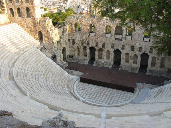 Одеон Герода Аттика в афинском Акрополе