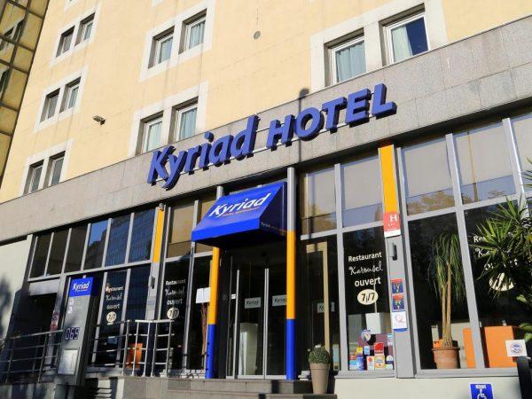 Отель Kyriad Centre Rabatau 3* в Марселе