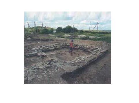 Руины мавзолея в Ессентуках