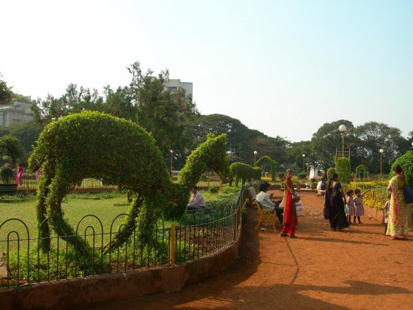 Фигурка животного в Висячих садах