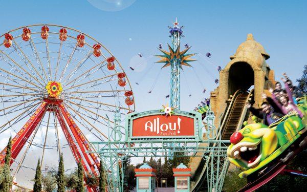Парк развлечений Allou Fun Park в Афинах