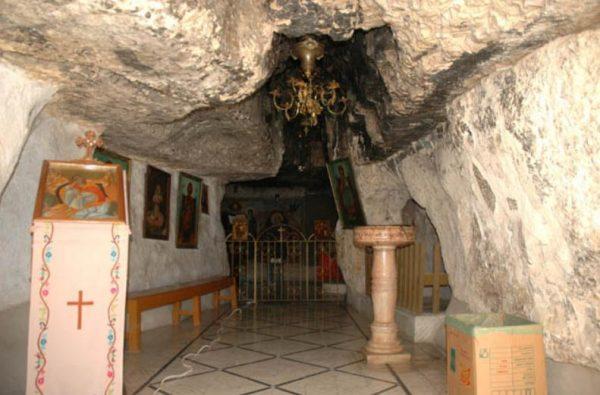 Пещера пророка Илии в Хайфе