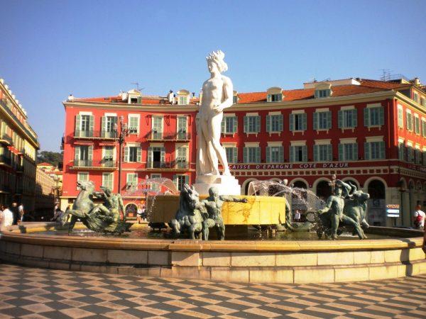 Площадь Массена в Ницце