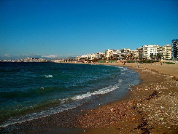 Пляж Фалирон в Афинах