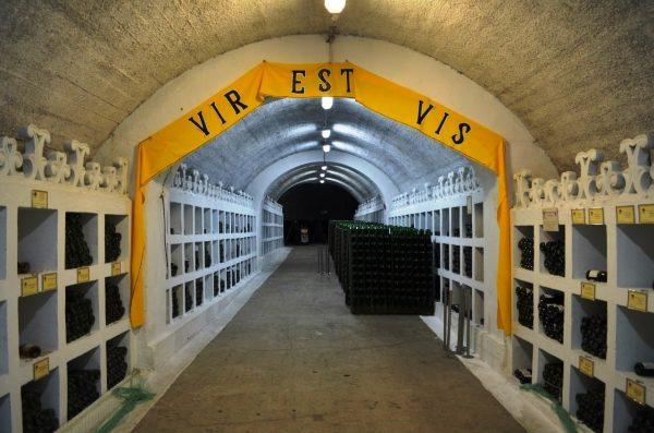 Подвал музея истории виноделия