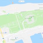 «Ростов Арена» на карте Ростова-на-Дону