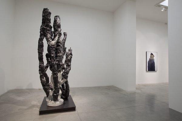 Скульптура Ника ван Воерта в музее Мамбо