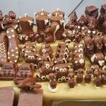Сладости из шоколада на фестивале «Choccoshow»