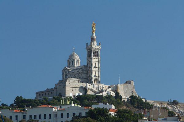 Базилика Нотр-Дам-де-ла-Гард в Марселе