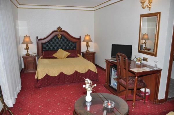 Интерьер двухместного номера в отеле «Doga Residence»