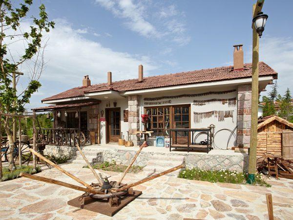 Старинный деревенский турецкий дом-музей