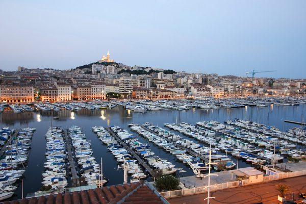 Старый порт в Марселе