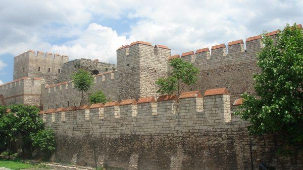 Стены Феодосия в Турции