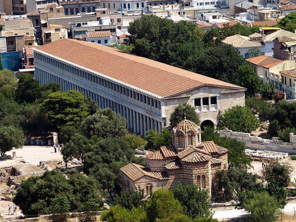 Стоя Аттала в Афинах