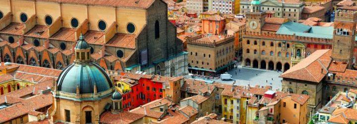 Вид на Болонью со смотровой площадки