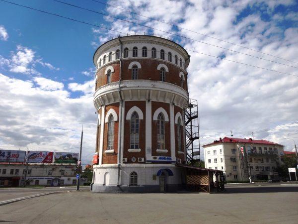 Водонапорная башня в Оренбурге