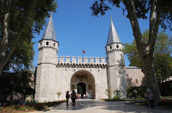Ворота дворца Топкапы в Стамбуле