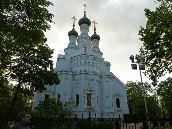 Шатровая колокольня Владимирского собора