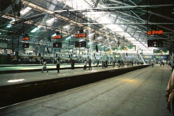 Железнодорожный вокзал Мумбаи
