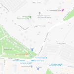 Зоопарк Самары на карте города