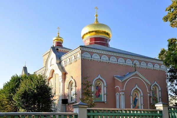 Старообрядческая Никольская церковь в Даугавпилсе