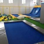 Батуты для игры в баскетбол и профессиональных тренировок в парке развлечений «Лето»