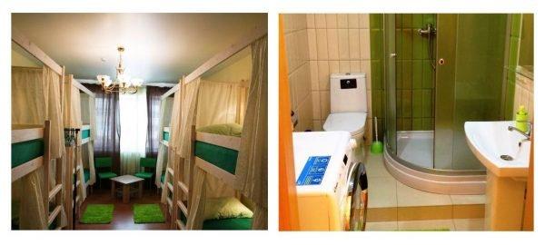 Общий номер в хостеле Nice в Истре