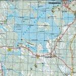 Карта Приозёрского района