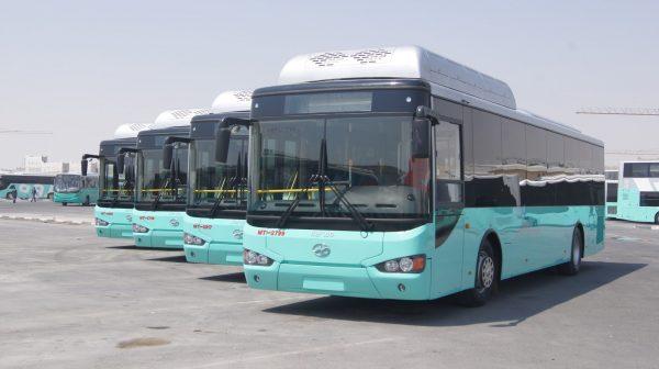 Автобусный парк в Дохе