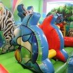 Батуты в центре «Детский рай»