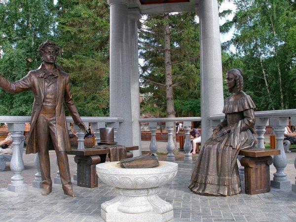 Скульптура «Пушкин и Натали»