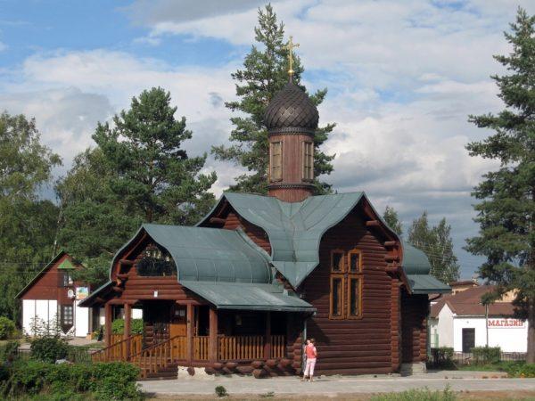 Церковь Троицы Живоначальной в Приозёрском районе