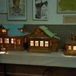 Дома в миниатюре