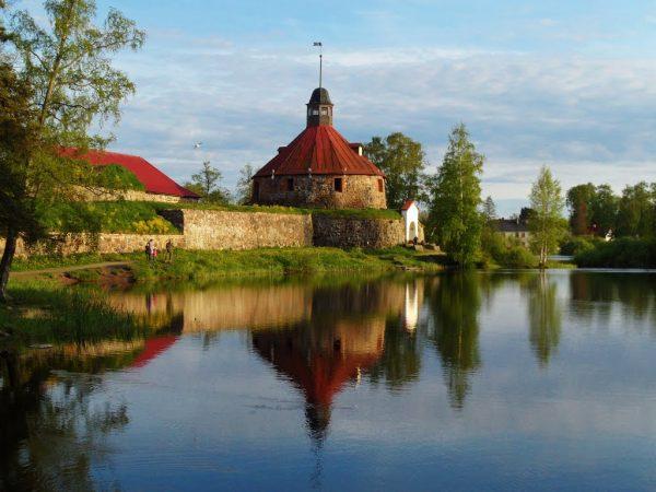 Крепость Корела в Приозёрске