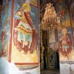 Фреска с изображением св. Христофора с лошадиной головой