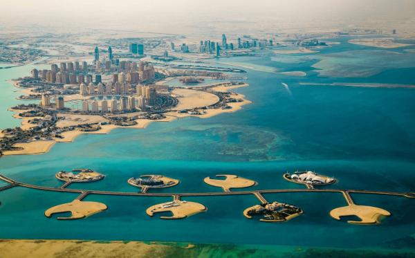 Город Доха на Катарском полуострове