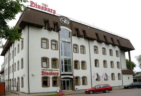 Гостиница Dinaburg в Даугавпилсе