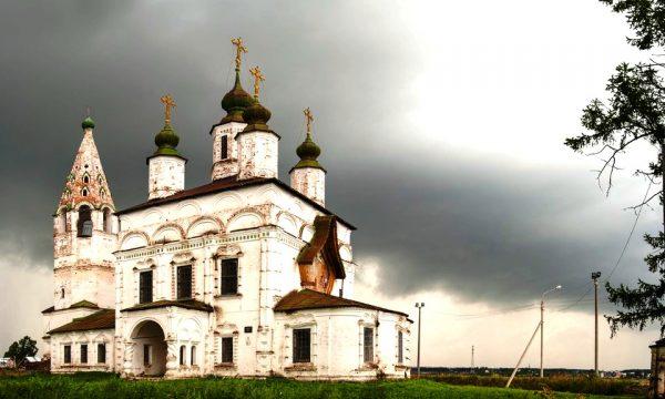 Храм Дмитрия Солунского в Великом Устюге