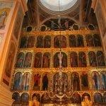 Иконостас и купол Успенского собора