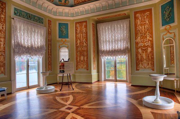 Интерьер павильона Венеры