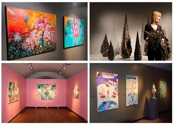 Произведения искусства в ррт-центре имени Марка Ротко